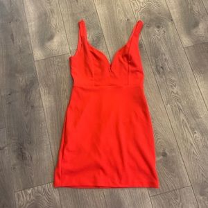 Express Red dress, only worn once!